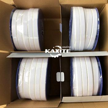 Ogmante PTFE Joint Sealant Gasket kasèt ak adezif